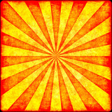 Grunge rays illustration in reddish shades