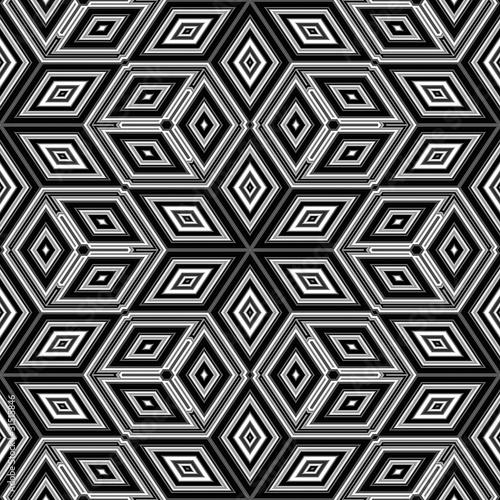 3d abstract cubes resembling an Escher illustration