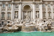 Leinwanddruck Bild - Roma, Fontana di Trevi