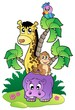Various cute African animals 2