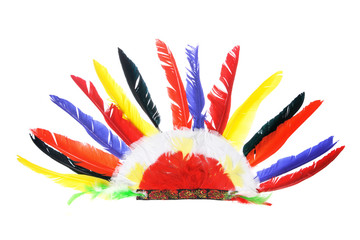 Red Indian Party Headgear