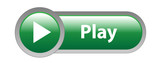 """PLAY"" Web Button (video media player watch live music icon key)"