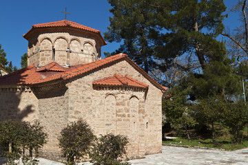 Church of Agia Lavra at Kalavryta village in Greece