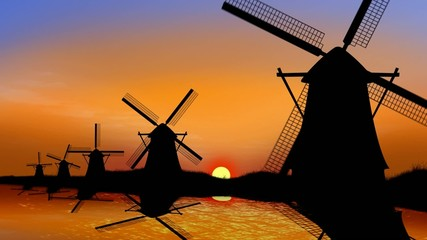 Farm windmills