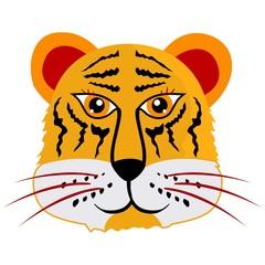 Tiger. Vector