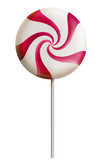 Lollipop candy red