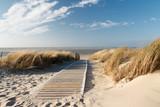 Fototapeta Fototapety – krajobraz polskiej wsi - Nordsee Strand auf Langeoog © Eva Gruendemann