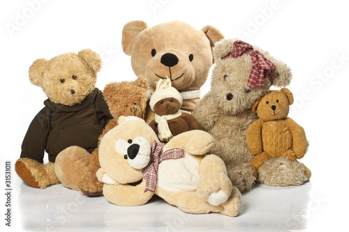 Teddy-bear isolated on a white background - 31531011