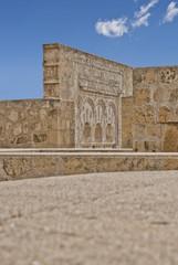 Detail of arched door in Medina Azahara
