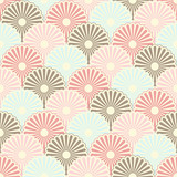 Seamless japanese vintage pattern