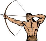Apache archer poster