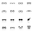 Icon set  Eye glasses