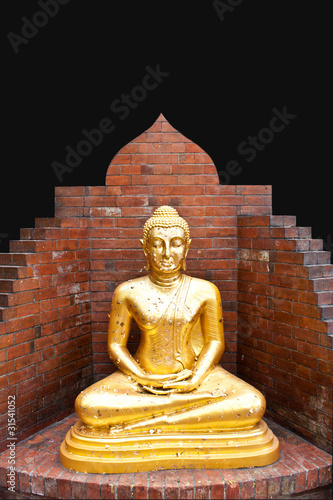 ฺBuddha in Meditation Concept