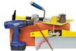 outils de maçonnerie pour bricolage