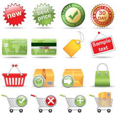 Online Store, vector EPS version 8