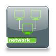 Button Spare Netzwerk grau grün