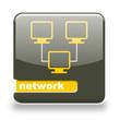 Button Spare Netwerk grau orange