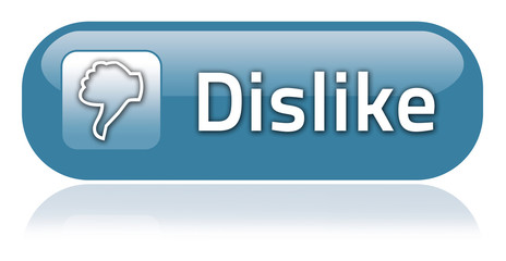 "Bar-shaped Button ""Dislike"""
