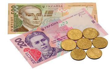 Ukrainian grivnas
