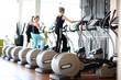 Leinwanddruck Bild - Fitness