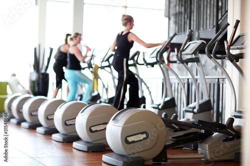 Leinwanddruck Bild Fitness