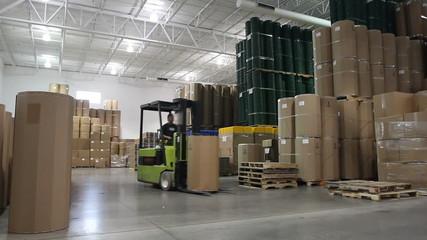 Warehouse Forklift 2