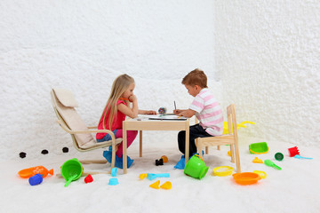 child play in salt room