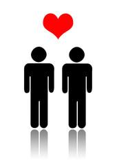 Concetto di amore omosessuale