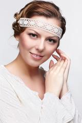 russian folk girl