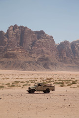 Wüstensafari in Wadi Rum