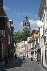 street in Bergen op Zoom