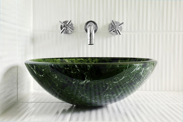 Comtemporary bathroom sink