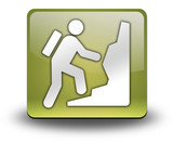 "Yellow 3D Effect Icon ""Climbing"""