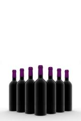 Group wine bottle