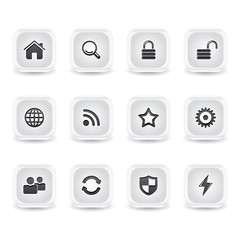 ice square website icons