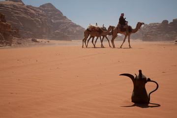 In der Wadi Rum Wüste