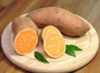 Süßkartoffeln, Knollen