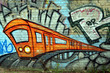 Leinwanddruck Bild - streetart berlin