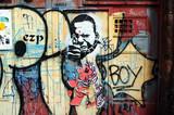 Fototapete Architektur - Arten - Graffiti