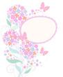 cute  floral card