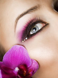 Fototapety Beautiful Eye Makeup