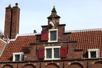Typical flemish facade