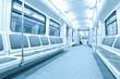 Fototapeta Niebieski - Deska - Metro