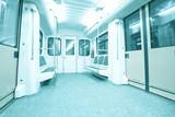 Fototapete öffentliche - Schiene - U-Bahn