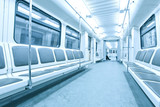 Fototapete Board - Bus - U-Bahn