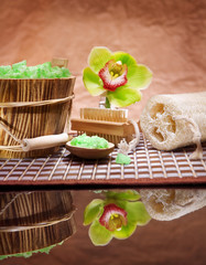 composition of bathing accesories