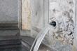 Leinwanddruck Bild - Brunnen in Zürich