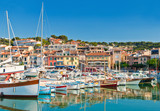 The seaside town of Cassis in the French Riviera