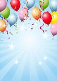 Fototapety Happy Birthday Background