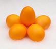 yellow eggs